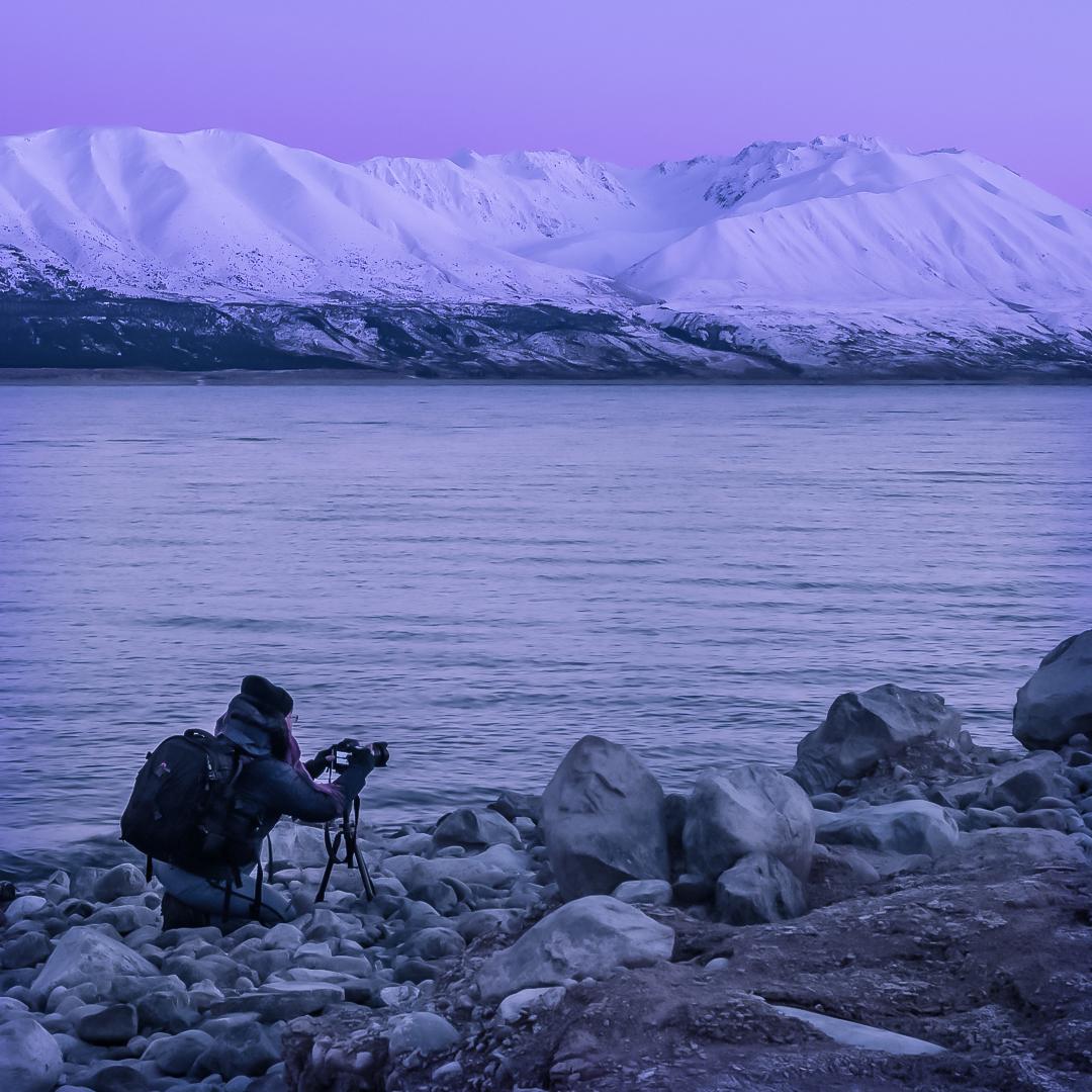 Sonnenaufgang Lake Punkaki